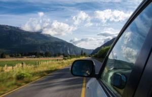 viajando por carretera