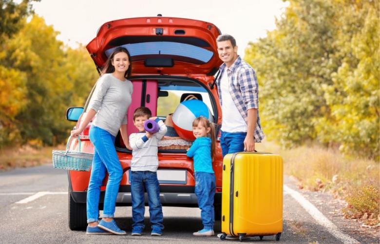 Trucos para viajar en coche con niños